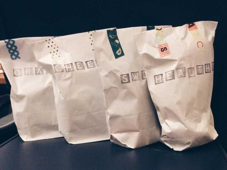 4 carepaket tüten
