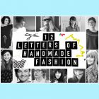 "Banner der Aktion ""12 Letters of handmade Fashion"""