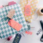 Einfaches DIY für österliche Geschenkanhänger mit verschiedenen Motiven
