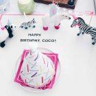 Geburtstagsteller mit Geburtstagsparade von fairy likes