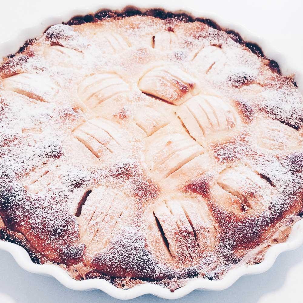 Apfeltarterezept für einen saftigen Kuchen