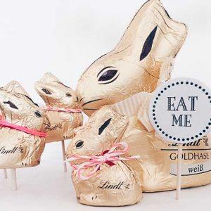 Detailaufnahme des Happy-Bunny Hasennest von fairy likes...